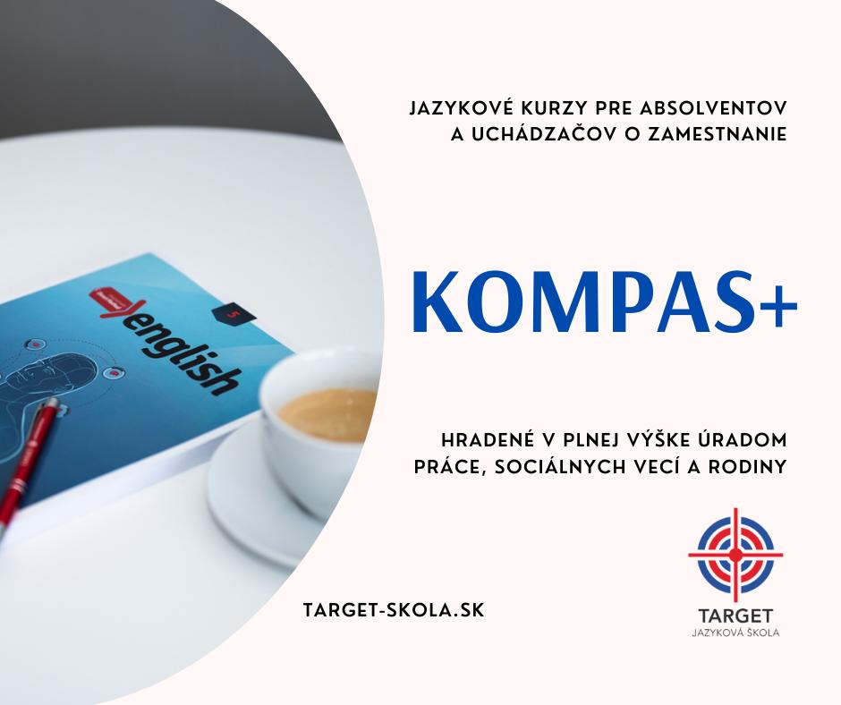 kompas+ jazykový kurz